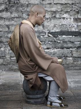 Monk, Dali Old Town, Yunnan Province, China by Jochen Schlenker