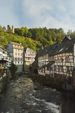 Old Town of Monschau, North Rhine-Westphalia, Germany, Europe by Jochen Schlenker