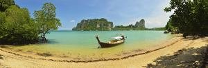 Railay East Bay, Rai Leh (Railay), Andaman Coast, Krabi Province, Thailand, Southeast Asia, Asia by Jochen Schlenker