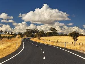 Road, Near Armidale, New South Wales, Australia, Pacific by Jochen Schlenker