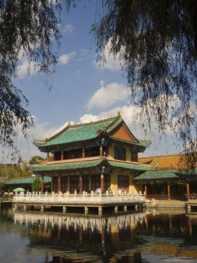 Scene at the Green Lake Park, Kunming, Yunnan Province, China, Asia by Jochen Schlenker