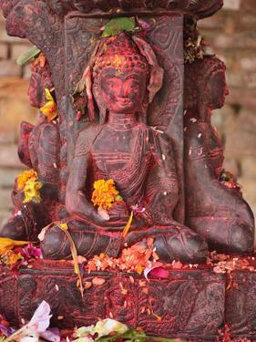 Statue, Patan, Bagmati, Central Region (Madhyamanchal), Nepal, Asia by Jochen Schlenker