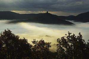View of Castle Trifels, Palatinate Forest, Near Annweiler, Rhineland-Palatinate, Germany, Europe by Jochen Schlenker