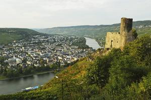 View of Landshut Castle Ruins by Jochen Schlenker