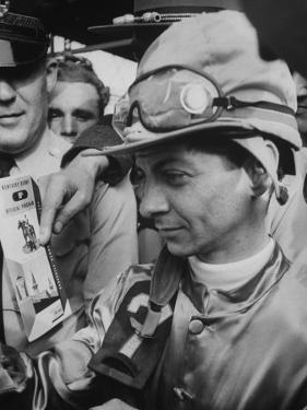 Jocky Willie Hartack after Winning the Kentucky Derby