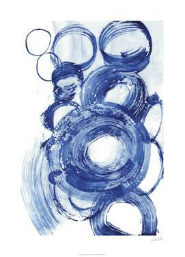 Blue Circle Study II by Jodi Fuchs