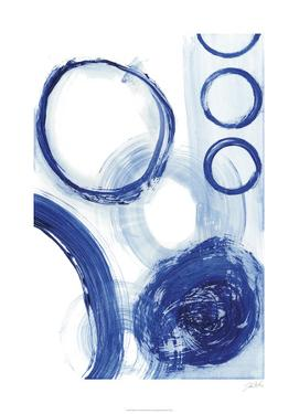 Blue Circle Study III by Jodi Fuchs