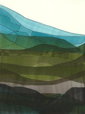 Blue Hills II by Jodi Fuchs