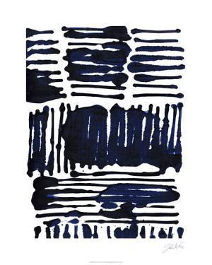 Indigo Stripes I by Jodi Fuchs