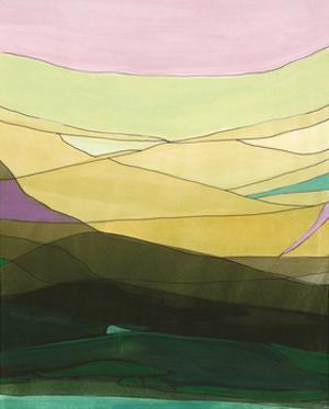 Pink Hills II by Jodi Fuchs