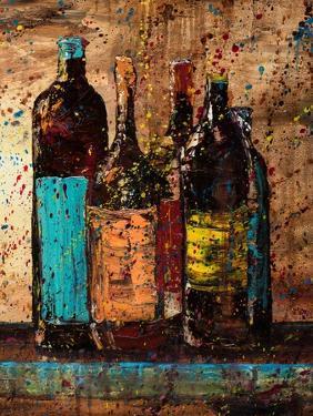 Wine Vino Wine II by Jodi Monahan