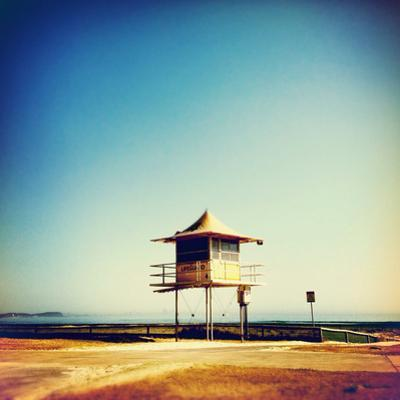 Lifeguard Tower at the Beach by Jodie Griggs