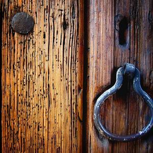 Iron Door Handle, Sedona by Jody Miller