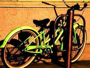 Neon Green Bike by Jody Miller