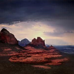 Storm Clouds over Sedona by Jody Miller