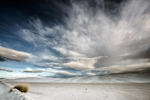 Wide Angle of Skies in Desert in USA by Jody Miller