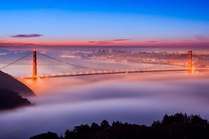 Fog at The Gate by Joe Azure