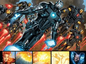 Iron Man #20 Figure: War Machine, Iron Man by Joe Bennett