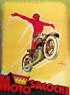 Motosacoche - Swiss Motorcycle Company by Joe Bridge