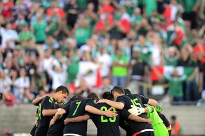 Soccer: Mexico Vs Ecuador by Joe Camporeale