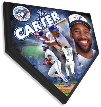 Joe Carter Home Plate Plaque