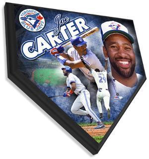 Joe Carter Home Plate Plaque