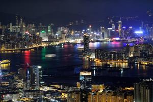 Victoria Harbour, Hong Kong, 2013 by Joe Chen Photography