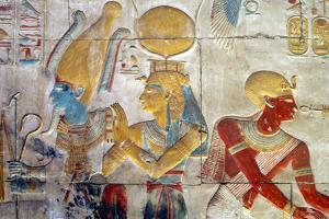 Osiris and Isis, Abydos. by Joe & Clair Carnegie / Libyan Soup