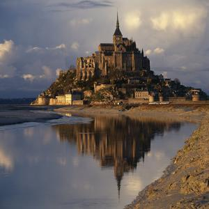 Mont-St-Michel, Normandy. Evening Shot with Reflection by Joe Cornish