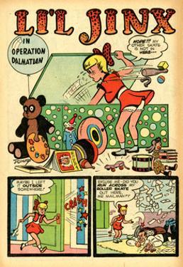 Archie Comics Retro: Li'l Jinx Comic Book Page Operation Dalmatian (Aged) by Joe Edwards