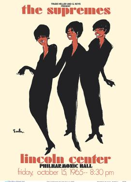 The Supremes - 1965 Lincoln Center, Philharmonic Hall Concert by Joe Eula