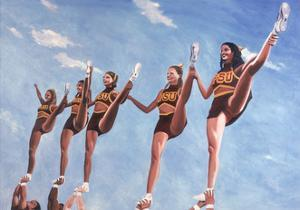 Florida State Cheerleaders, 2002 by Joe Heaps Nelson