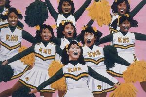 Kiamuki High School Cheerleaders, 2002 by Joe Heaps Nelson