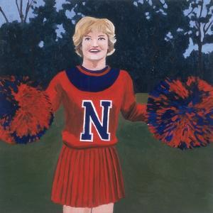 'N' Cheerleader, 2000 by Joe Heaps Nelson