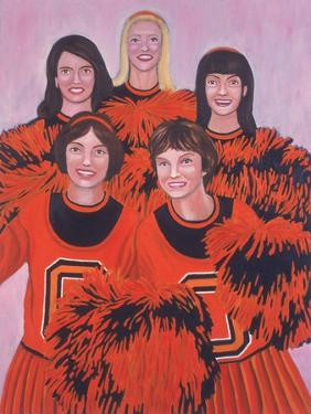 Oregon State Cheerleaders, 2002 by Joe Heaps Nelson