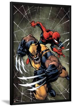 Savage Wolverine #6 Cover: Spider-Man, Wolverine by Joe Madureira