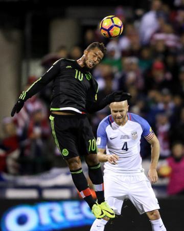 Soccer: 2018 FIFA World Cup Qualfying-Mexico at USA by Joe Maiorana