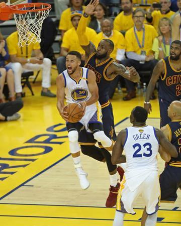 2017 NBA Finals - Game One by Joe Murphy