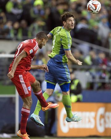 2014 MLS Playoffs: Nov 10, FC Dallas vs Seattle Sounders - Brad Evans