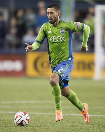 2014 MLS Playoffs: Nov 10, FC Dallas vs Seattle Sounders - Clint Dempsey by Joe Nicholson