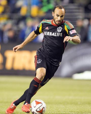2014 MLS Western Conference Championship: Nov 30, LA Galaxy vs Seattle Sounders - Landon Donovan by Joe Nicholson