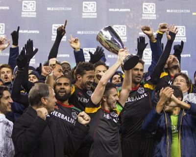 2014 MLS Western Conference Championship: Nov 30, LA Galaxy vs Seattle Sounders by Joe Nicholson