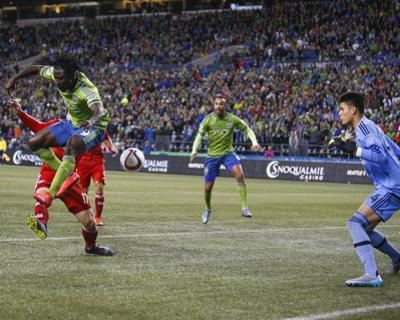 Mls: Playoffs-Fc Dallas at Seattle Sounders by Joe Nicholson