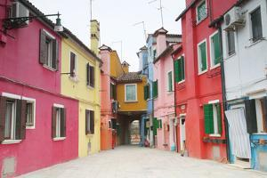 Colorful Homes in a Very Clean, Quaint Village by Joe Petersburger