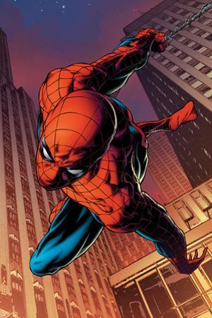 Amazing Spider-Man No.641: Spider-Man Swinging by Joe Quesada