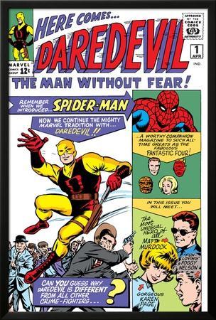 Daredevil No.1 Cover: Daredevil