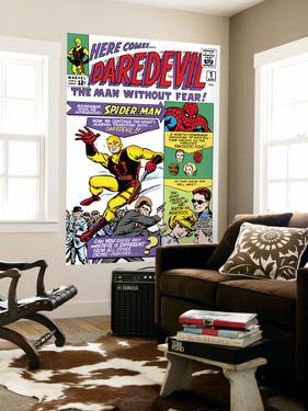 Daredevil No.1 Cover: Daredevil by Joe Quesada