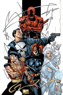 Marvel Spotlight: Marvel Knights 10th Anniversary Cover: Daredevil by Joe Quesada
