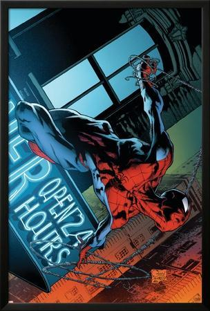 The Amazing Spider-Man No.592 Cover: Spider-Man by Joe Quesada