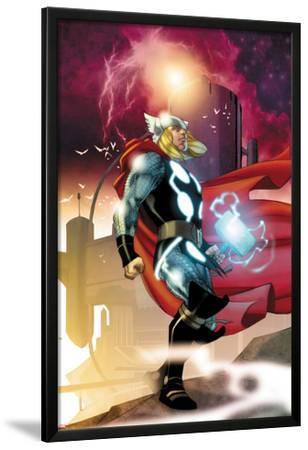 Thor No.615 Cover: Thor Walking by Joe Quesada